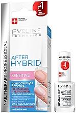 Parfüm, Parfüméria, kozmetikum Helyreállító körömápoló - Eveline Cosmetics After Hybrid Rebuilding Conditioner