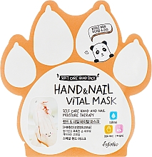 Parfüm, Parfüméria, kozmetikum Vitaminmaszk kézre és körömre - Esfolio Hand & Nail Vital Mask