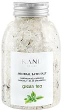 """Parfüm, Parfüméria, kozmetikum Ásványi fürdősó """"Zöld tea"""" - Kanu Nature Mineral Green Tea Bath Salt"""
