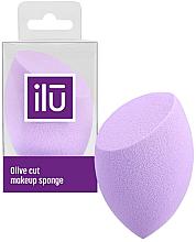 Parfüm, Parfüméria, kozmetikum Sminkszivacs, lila - Ilu Sponge Olive Cut Purple