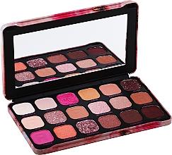 Parfüm, Parfüméria, kozmetikum Szemhéjfesték paletta, 18 árnyalat - Makeup Revolution Forever Flawless Palette