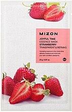 Parfüm, Parfüméria, kozmetikum Szövetmaszk eper kivonattal - Mizon Joyful Time Essence Mask Strawberry