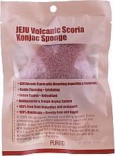 Parfüm, Parfüméria, kozmetikum Konjak szivacs vulkanikus hamuval - Purito Jeju Volcanic Scoria Konjac Sponge