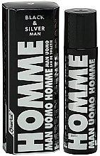 Parfüm, Parfüméria, kozmetikum Omerta Black & Silver Man - Eau De Toilette