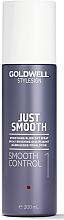 Parfüm, Parfüméria, kozmetikum Hajegyenesítő spray - Goldwell Style Sign Just Smooth Control Blow Dry Spray
