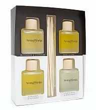Parfüm, Parfüméria, kozmetikum Szett - AromaWorks Light Range Reed Diffuser (diffuser/4x[100ml)