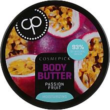 Parfüm, Parfüméria, kozmetikum Hidratáló testvaj maracuja kivonattal - Cosmepick Body Butter Passion Fruit