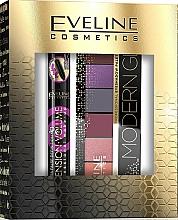 Parfüm, Parfüméria, kozmetikum Szett - Eveline Cosmetics (masc/10ml + eye/pal/9.6g)