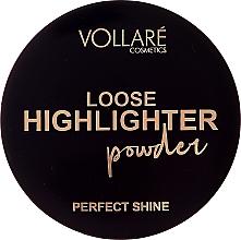 Parfüm, Parfüméria, kozmetikum Highlighter Powder - Vollare Loose Highlighter Powder Perfect Shine
