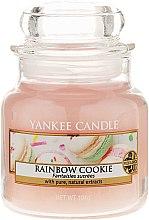 Parfüm, Parfüméria, kozmetikum Aromagyertya üvegben - Yankee Candle Rainbow Cookie