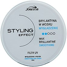 Parfüm, Parfüméria, kozmetikum Brillantine wax - Joanna Styling Effect Wax Brilliantine