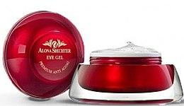 Parfüm, Parfüméria, kozmetikum Szemkörnyékápoló gél természetes összetevőkkel és Holt-tengeri ásványokkal - Alona Shechter Beautyli Eye Gel
