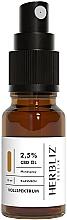 """Parfüm, Parfüméria, kozmetikum Olajos szájüreg spray """"Klasszikus"""" 2,5% - Herbliz CBD Classic Full Spectrum Oil Mouth Spray 2,5%"""