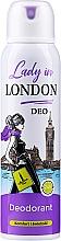 Parfüm, Parfüméria, kozmetikum Dezodor - Lady In London Deodorant