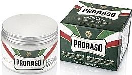 Parfüm, Parfüméria, kozmetikum Borotválkozó krém mentollal és eukaliptusszal - Proraso Green Pre Shaving Cream