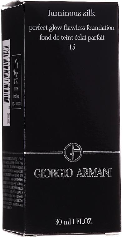 Alapozó krém - Giorgio Armani Luminous Silk Foundation