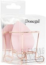 Parfüm, Parfüméria, kozmetikum Sminkszivacs kosárral, rózsaszín - Donegal