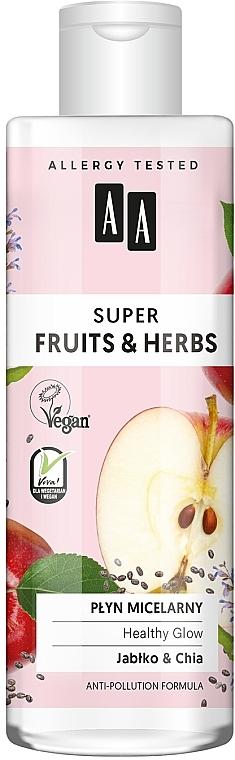 Micellás víz - AA Super Fruits & Herbs Healthy Glow