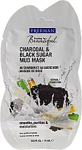 "Parfüm, Parfüméria, kozmetikum Iszapos arcmaszk ""Fekete cukor"" - Freeman Feeling Beautiful Charcoal & Black Sugar Mud Mask (mini)"