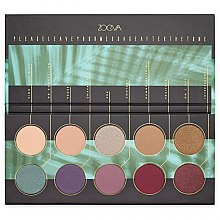 Parfüm, Parfüméria, kozmetikum Szemhéjfesték paletta - Zoeva Offline Eye Shadow Palette