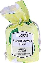"""Parfüm, Parfüméria, kozmetikum Illatosított gyertya """"Bodza koktél"""" - I Love Elderflower Fizz Scented Candle"""