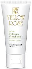 Parfüm, Parfüméria, kozmetikum Kiegyensúlyozó nappali krém - Yellow Rose Creme Hydratante Normalisante