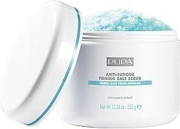 """Parfüm, Parfüméria, kozmetikum Sós testradír """"Tonizáló és relaxáló"""" - Pupa Home Spa Anti-Fatigue Toning Salt Scrub"""