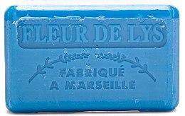 """Parfüm, Parfüméria, kozmetikum Marseillaise szappan """"Liliom"""" - Foufour Savonnette Marseillaise Fleur de Lys"""