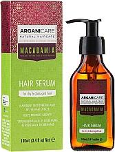 """Parfüm, Parfüméria, kozmetikum Hajszérum """"Sérült hajvégek"""" - Arganicare Macadamia Hair Serum for Dry & Damaged Hair"""