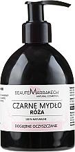 Parfüm, Parfüméria, kozmetikum Folyékony fekete szappan rózsa olajjal - Beaute Marrakech Rose Black Liquid Soap