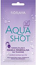 Parfüm, Parfüméria, kozmetikum Hidratáló ásványi maszk, minden hajtípusra - Soraya Aquashot
