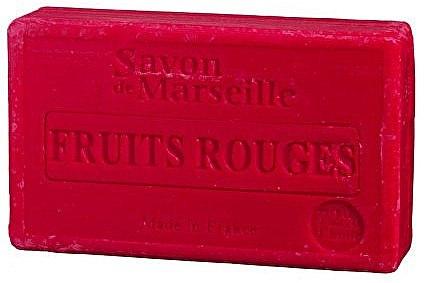 """Natúr szappan """"Piros gyümölcsök"""" - Le Chatelard 1802 Red Fruit Soap"""