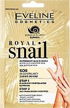 Parfüm, Parfüméria, kozmetikum Kézmaszk és peeling - Eveline Cosmetics Royal Snail Sos Regenerating Hand Treatment