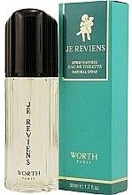 Parfüm, Parfüméria, kozmetikum Worth Je Reviens - Eau De Toilette