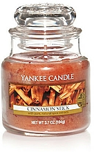 "Parfüm, Parfüméria, kozmetikum Aromagyertya ""Fahéj rúd"" - Yankee Candle Cinnamon Stick"