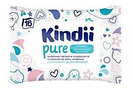 Parfüm, Parfüméria, kozmetikum Gyermek nedves törlőkendő - Kindii Pure