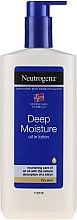 Parfüm, Parfüméria, kozmetikum Testápoló emulzió - Neutrogena Deep Moisture Creamy Oil