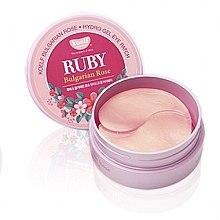 Parfüm, Parfüméria, kozmetikum Hidrogél szemtapasz rubinnal és bolgár rózsával - Petitfee & Koelf Ruby & Bulgarian Rose Eye Patch