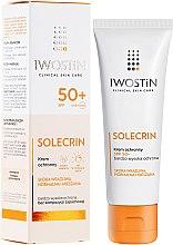 Parfüm, Parfüméria, kozmetikum Napvédő krém - Iwostin Solecrin Lucidin Protective Cream SPF 50+
