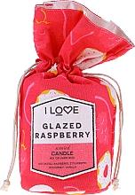 """Parfüm, Parfüméria, kozmetikum Illatosított gyertya """"Málna glazúr"""" - I Love Glazed Raspberry Scented Candle"""
