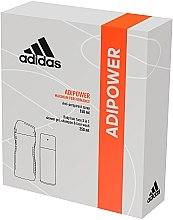 Parfüm, Parfüméria, kozmetikum Szett - Adidas Adipower Men (deo/150ml +sh/gel/250ml)