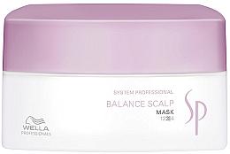 Parfüm, Parfüméria, kozmetikum Maszk érzékeny fejbőrre - Wella SP Balance Scalp Mask