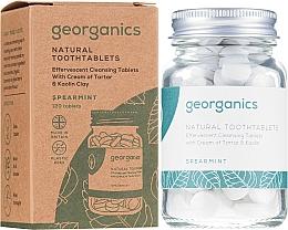 "Parfüm, Parfüméria, kozmetikum Fogtisztító tabletta ""Menta"" - Georganics Natural Toothtablets Spearmint"