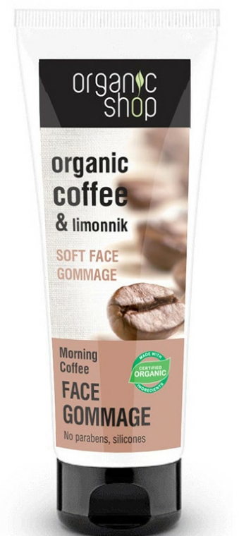 "Arc gommage ""Reggeli kávé"" - Organic Shop Gommage Face"
