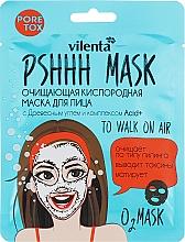 Parfüm, Parfüméria, kozmetikum Tisztító oxigén arcmaszk faszénnel és Acid+ komplexummal - Vilenta Pshhh Mask