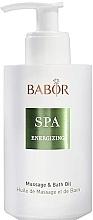 Fürdő és masszázsolaj - Babor Energizing Massage & Bath Oil — fotó N1