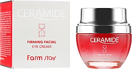 Parfüm, Parfüméria, kozmetikum Feszesítő szemkrém keramidokkal - FarmStay Ceramide Firming Facial Eye Cream