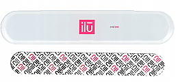 Parfüm, Parfüméria, kozmetikum Körömreszelő, tokban - Ilu Nail File With Case Medium 240/240