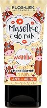 """Parfüm, Parfüméria, kozmetikum Ránctalanító kézápoló olaj """"Vanília"""" - Floslek Anti-Aging Wanilia Hand Butter"""