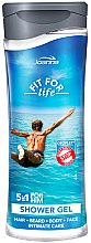 Parfüm, Parfüméria, kozmetikum Tusfürdő és sampon 5 az 1-ben - Joanna Fit For Life 5in1 Shower Gel For All Body Odour Stoper For Men